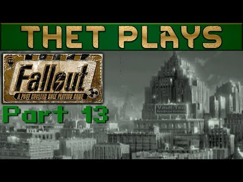 Thet Plays Fallout: A Post Nuclear RPG Part 13: The Boneyard