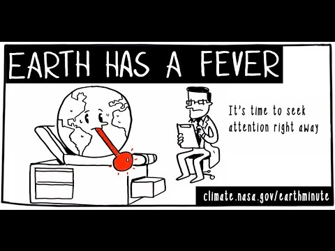 NASA's Earth Minute: Earth Has a Fever