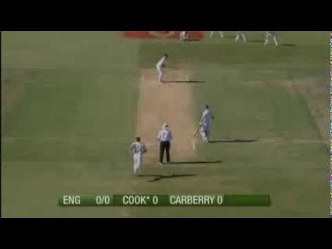 First Ball Of The Ashes 2013/14