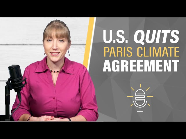 Congratulate Trump | Paris Climate Agreement Withdrawal
