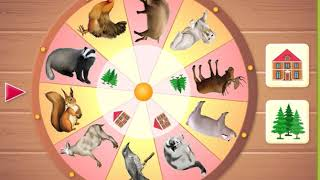 домашние , дикие животные. для детей