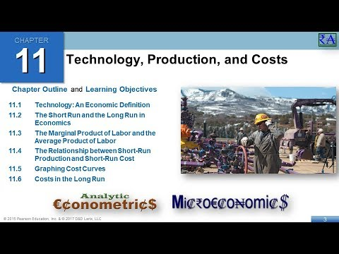 Microeconomics - Chapter 11: Technology, Production, and Costs