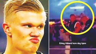ХОЛАНДА ВЫГНАЛИ из НОЧНОГО КЛУБА Эрлинг кричал и был очень зол Большой скандал в Норвегии
