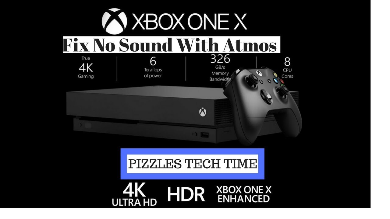 How to fix No Sound with Dolby Atmos On Xbox One X/S
