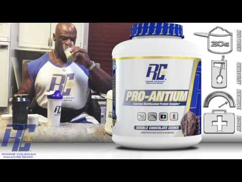 Ronnie Coleman Reviews New Protein Flavors From His Kitchen