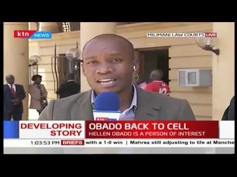 Obado pleads not guilty, back to remand