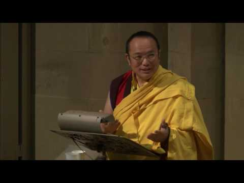 Talk by HH Chamgon Kenting Tai Situpa at Stanford University