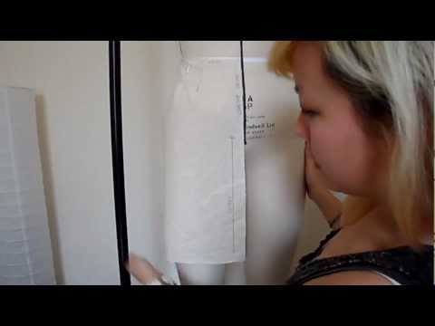 Pattern Cutting Tutorial: How To Check/Correct The Balance Of A Basic Skirt Block