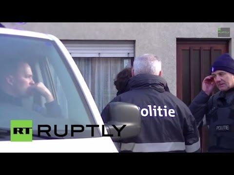 LIVE: Aftermath of anti-terrorist raids in Verviers