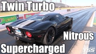 Twin Turbo, Supercharged and Nitrous - Ford GT