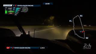 Camera on board Toyota #7 - 24 Heures du Mans 2018