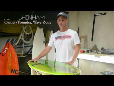 Adam Barker Pro Model Skimboard by Wave Zone
