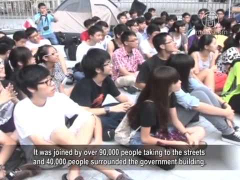 Joshua Wong, Hong Kong's 17-Year-Old Senior Activist