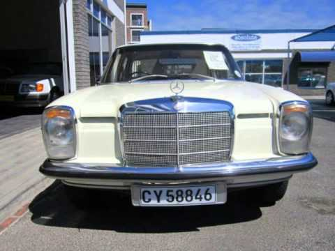 1972 mercedes benz 220 manual auto for sale on auto for Mercedes benz south africa