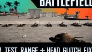 New Test Range + Head Glitch Fix! Battlefield 4 Spring Patch Gameplay