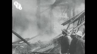 Disastrous Bombay Fire (1914)