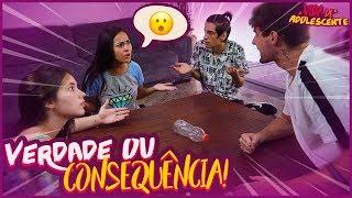 VERDADE OU CONSEQUÊNCIA NA CASA!! ( DEU BRIGA ) - VIDA DE ADOLESCENTE #64 [ REZENDE EVIL ]