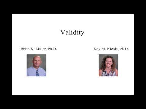 Organizational Staffing:  Validity in HRM