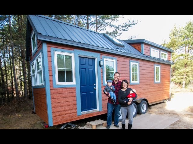 Everything In This Tiny House Has A Double Or Triple Use. You Have To See  This!