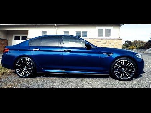 2018 BMW M5 - REVIEW - go fast with no sweaty palms