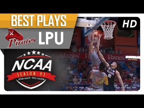 Letran can't stop the Marcelino Connection! | LPU | Best Plays | NCAA 93 | MB