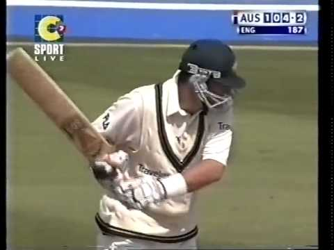Mark Waugh 108 vs England 2001 Ashes 2nd test