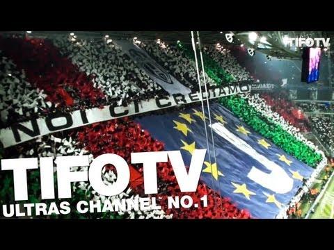 JUVE ULTRAS.. . CHOREO & ANTHEM 'JUVE STORIA DI UN GRANDE AMORE' - Ultras Channel No.1