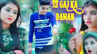 52 Gaj Ka Daman ☺ Cute Love Story  New bollywood songs | Rick and Rupsa  Ujjal Dance Group 2021