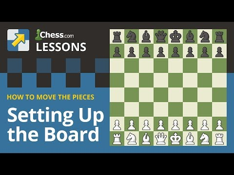 Learn To Play Chess How To Setup Chessboard