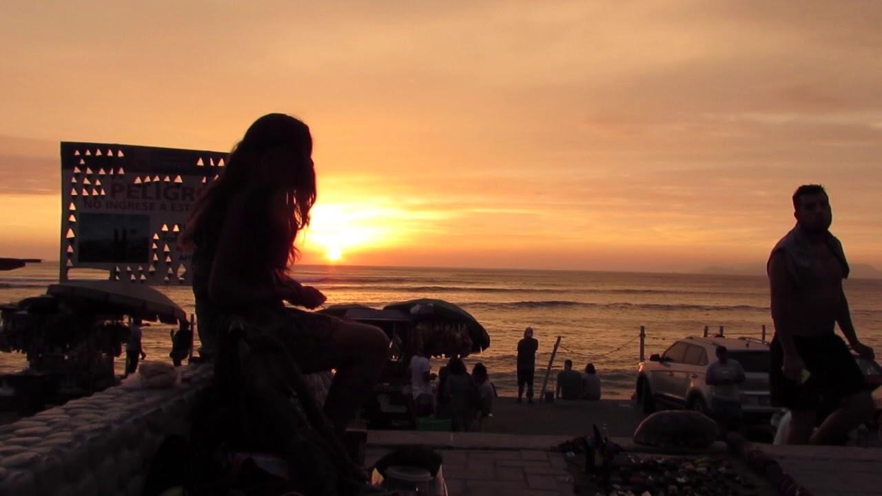 Resultado de imagen para sunset playa lima