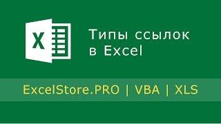 Урок 2: Типы ссылок в Excel