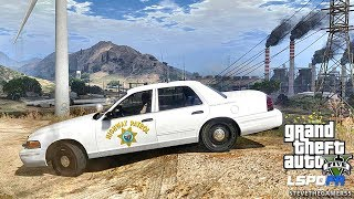 LSPDFR #491 CHP!! (GTA 5 REAL LIFE POLICE PC MOD)