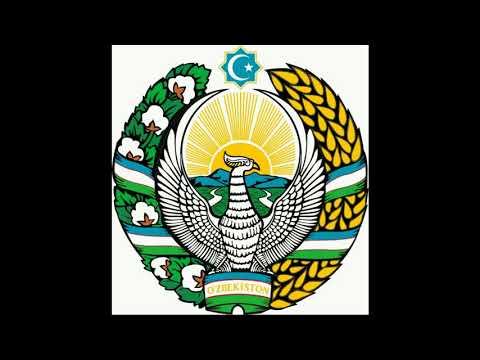 Как нарисовать герб республики узбекистан
