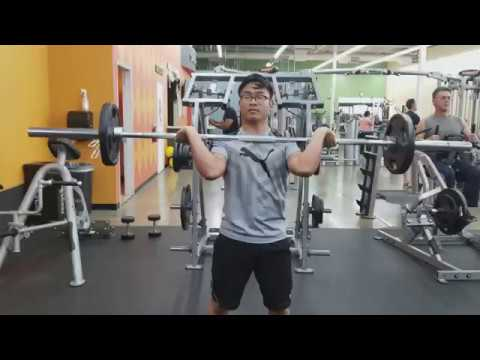 Power Clean Form Check 95lbs - YouTube