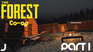 The Forest Co-op - Part 1 - Setting Up Camp! (Feat. Dale)