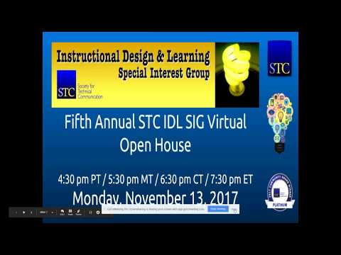 IDL SIG Virtual Open House Nov 13 2017
