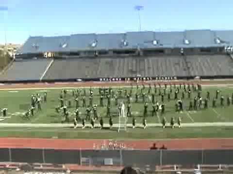 Nevada Marching Band 2008 Journey Show