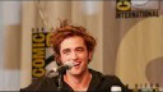 Robert Pattinson - Sex Hair at Twilight Comic Con Session