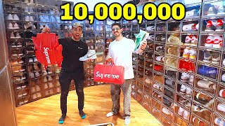 $10,000,000 Mansion WITH 500 SHOES !!!