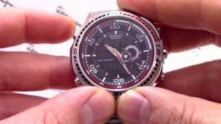 casio EDIFICE EFA-121D-1A EFA-121D-1AVEF - Инструкция, как настроить от PresidentWatches.Ru