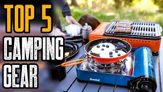 Top 5 Camping Gęar Essentials You Must Own