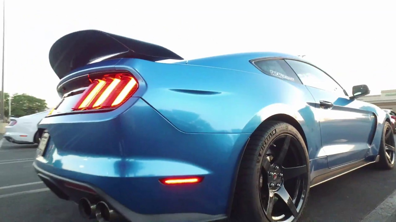 Ford Mustang 2017 >> New Mustang GT350 x Project 6GR wheels - YouTube