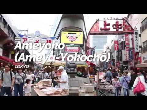 Ameyoko (Ameya Yokochō) ,Tokyo | Japan Travel Guide