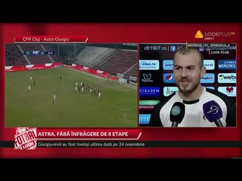 CFR - Astra: 1-1, ce a declarat Denis Alibec