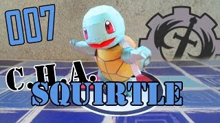 Como hacer a... Squirtle papercraft