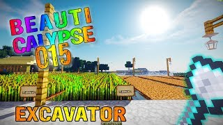 Minecraft #015 | Tinkers Construct Excavator Schaufel |  After Humans Let's Play Gameplay Deutsch thumbnail
