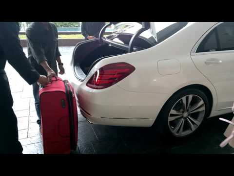 MY RIDE IN JAKARTA - Mercedes Benz S400 Long Wheel Base with Driver and Personal Assistant