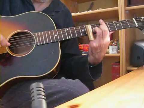 Sunday morning blues - Open C tuning -Gibson J 45