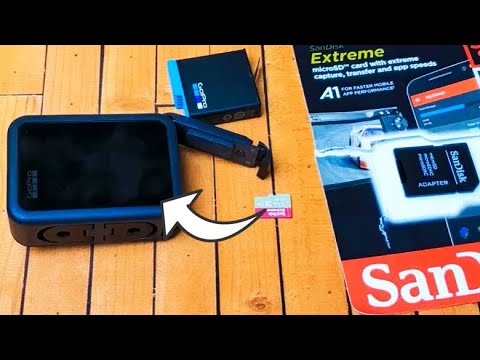 GoPro Hero 8 Black: How To Insert Micro SD Card & Format