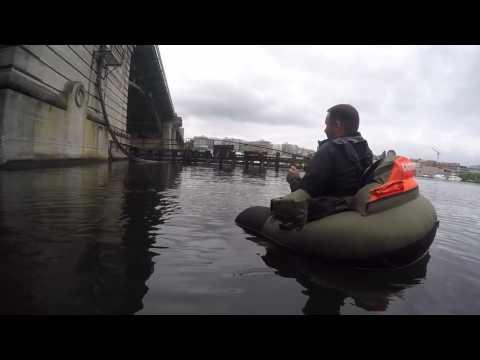 Lake Union Float Tube Fishing